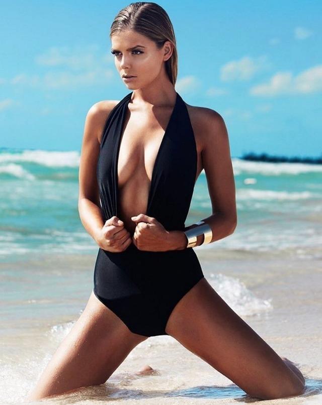 Milos Raonic girlfriend Danielle Knudson modelling