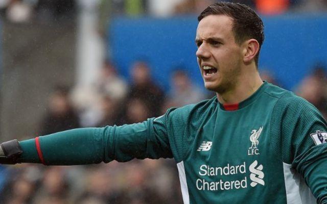Liverpool's Danny Ward