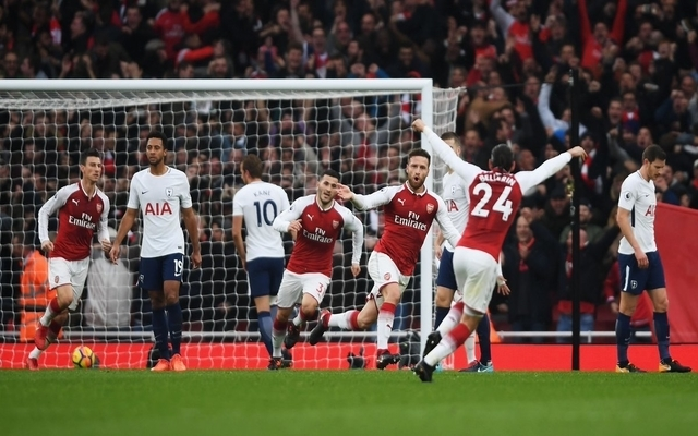 'Best I've seen Arsenal play in a long time' - Gunners faithful react to brilliant first half against Tottenham