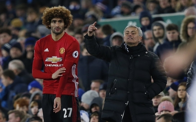 Furious Manchester United fans react to Marouane Fellaini's new contract