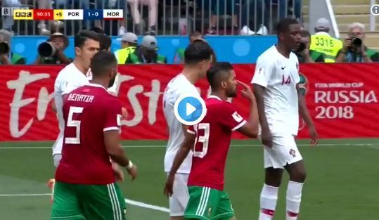 Video: Pepe produces an absolutely pathetic dive during Portugal's win over Morocco | CaughtOffside