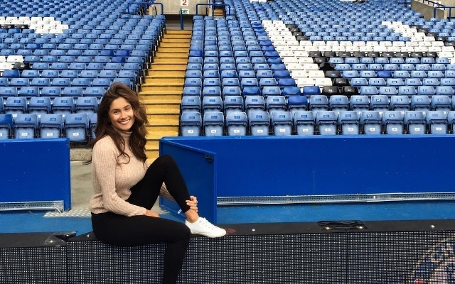 Sophie Rose is the hottest Chelsea fan in the world... FACT! These photos prove it