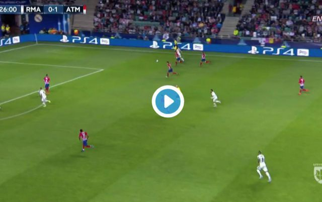 Video: Karim Benzema scores easy goal for Real Madrid following superb work from Gareth Bale