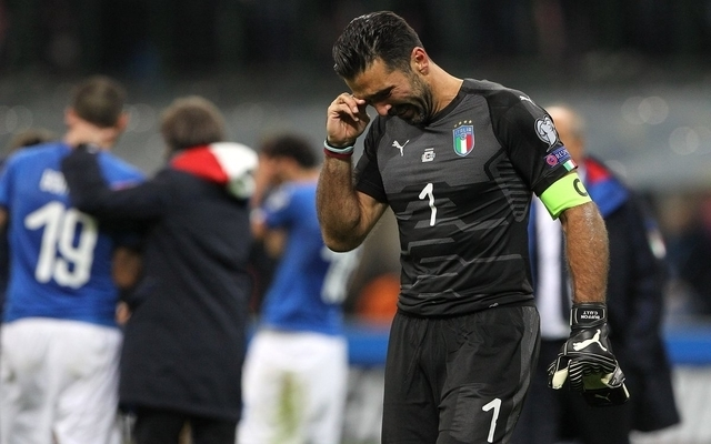 Missing World Cup XI: Buffon heartbreak, Italy legend joins star-studded list