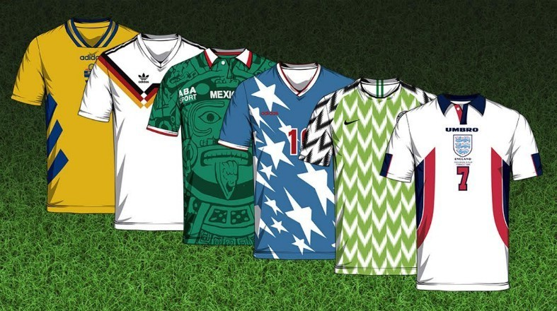 world cup best kits