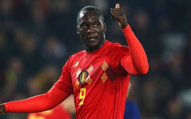 (Watch) Manchester United's Romelu Lukaku shows he's a class act with response to becoming Belgium's all-time leading scorer