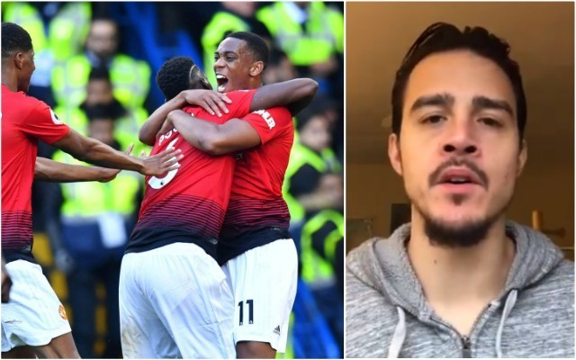 Video: 'Embarrassing' Chelsea ace ripped to shreds for social media antics after Manchester United game
