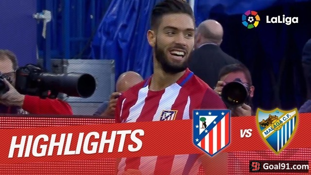 VIDEO: Carrasco & Gameiro star as Atletico Madrid beat Malaga 4-2 (official video) | Goal91