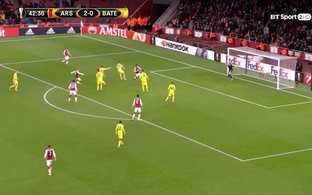 Video: Jack Wilshere scores first goal for Arsenal in three years, superb strike from the Englishman