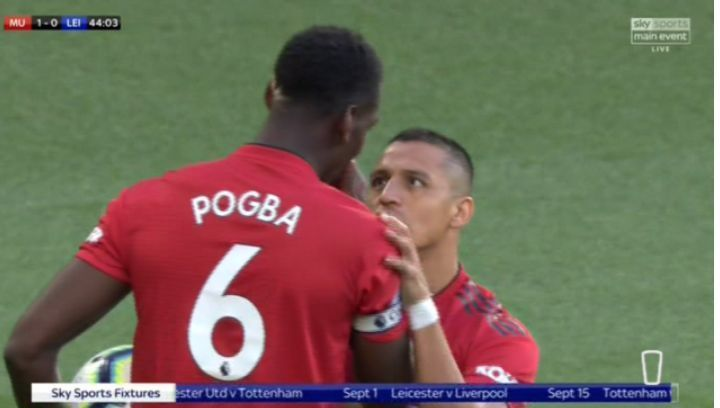 Jose Mourinho clears up Paul Pogba and Alexis Sanchez penalty row in Manchester United win | Goal91