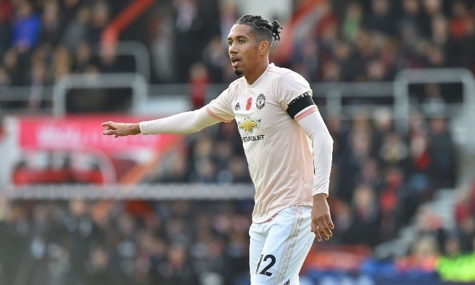 Chris Smalling wanted by Everton