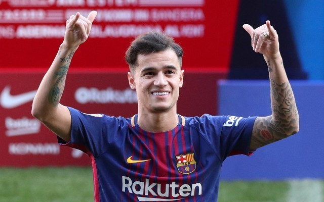 Fighting talk: Barcelona star sends message to Philippe Coutinho over his place in the team