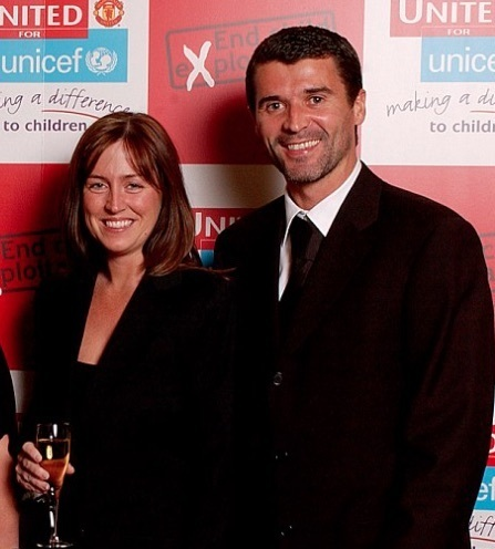 Roy Keane & wife