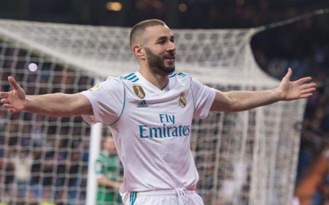 Real madrid's Karim Benzema
