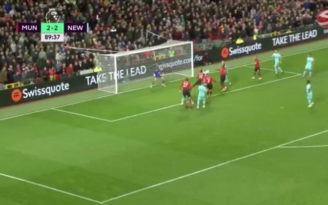 Video: Alexis Sanchez ends goal drought to complete amazing Man United comeback against Newcastle