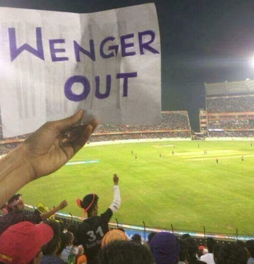 The Wenger Out tour also visited India