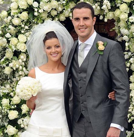 John O'Shea & wife