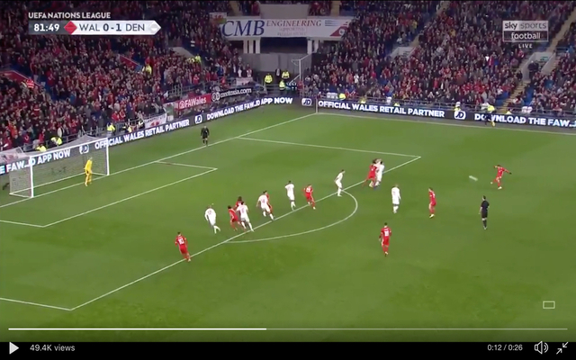 Video: Schmeichel save of the season contender to deny Bale