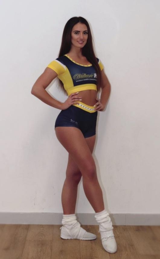 Chelsie Fitzharris (PDC darts dancers)