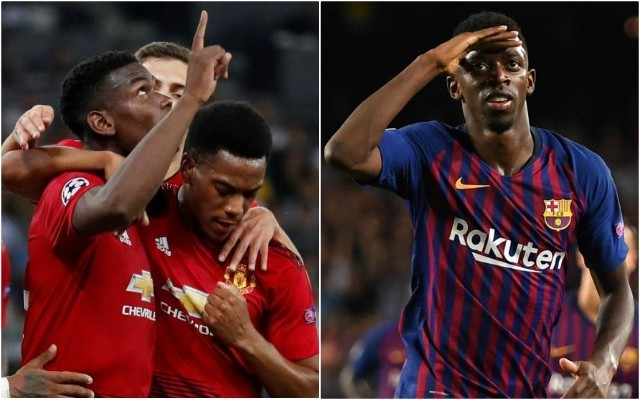 Lionel Messi wants Barcelona to sell Ousmane Dembele and replace him with Man United star