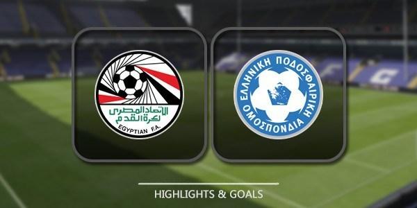 VIDEO Egypt vs Greece (Friendlies) Highlights