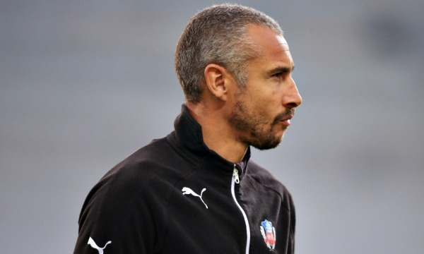Football: Henrik Larsson and son confronted by Helsingborg fans after relegation
