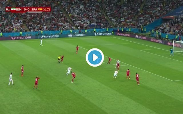 Video: Chelsea fans brutally trolled as Diego Costa scores yet again in the World Cup for Spain