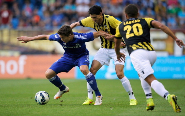 (Photo) Chelsea's Netherland international happy with goal during 3-2 win