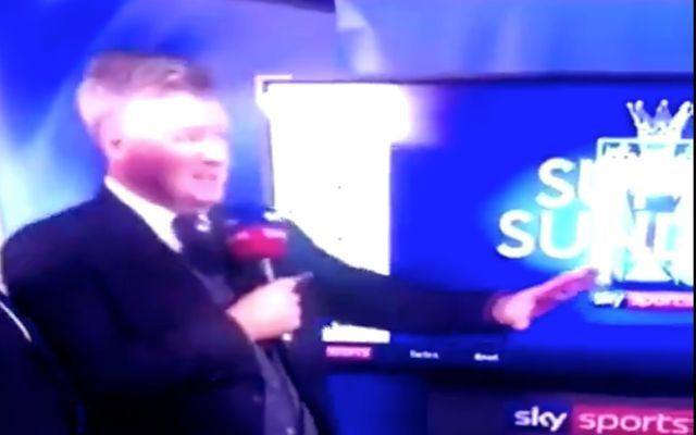 Video: Sky Sports reporter apologises after hilariously cringe mistake in interview with Alexandre Lacazette