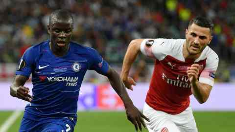 VIDEO Chelsea vs Arsenal (Europa League Highlights) Highlights