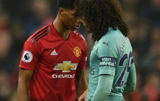 """There is a bit of jealousy there"" - Arsenal star trolls Manchester United ace after incident at Old Trafford 