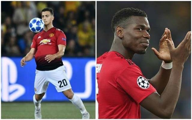 Paul Pogba reveals how Manchester United players reacted to Diogo Dalot's superb debut | Goal91