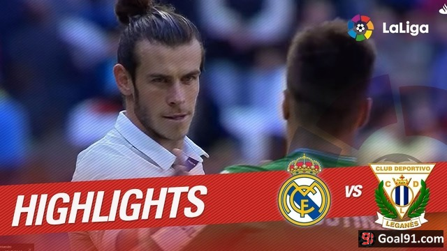 VIDEO: Gareth Bale at the double as Real Madrid beat Leganes 3-0 (official video)