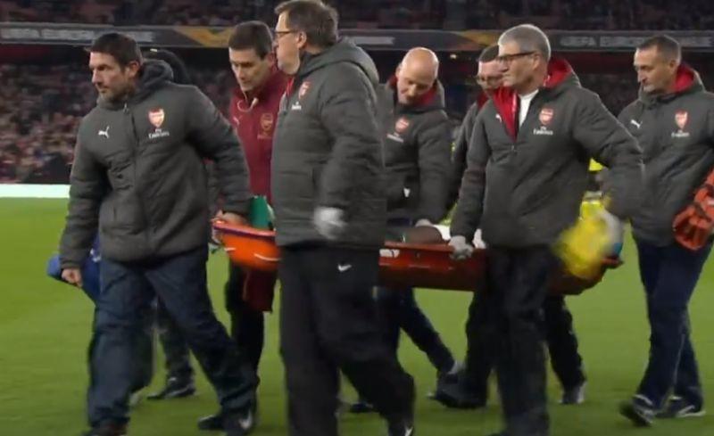 welbeck injury
