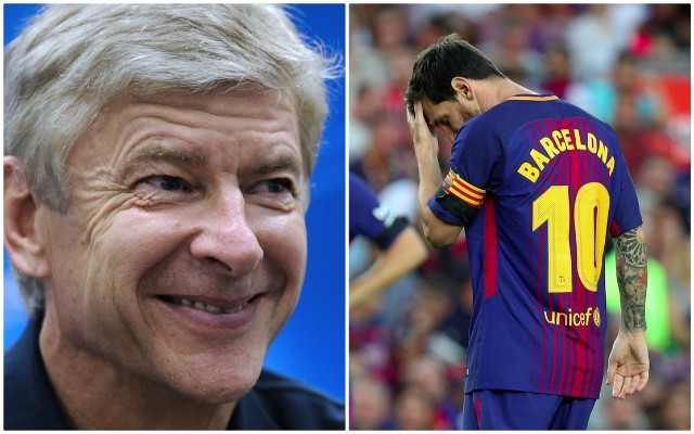 Arsenal fans love Barcelona's 'perfect tribute' to Arsene Wenger as unbeaten run ends on same day as his last game