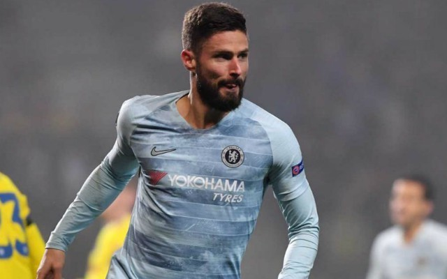 Olivier Giroud blames Maurizio Sarri playing style for lack of goals for Chelsea | Goal91