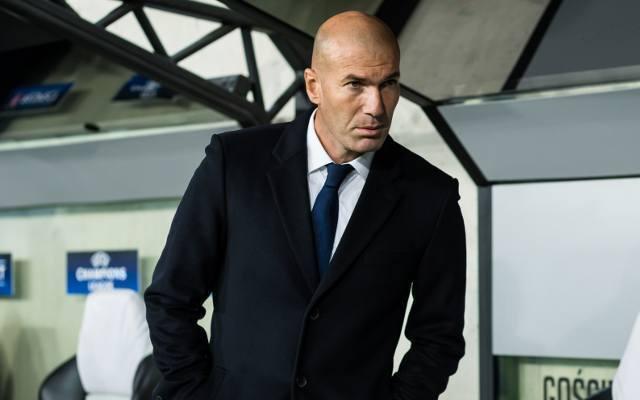 Madrid boss Zinedine Zidane