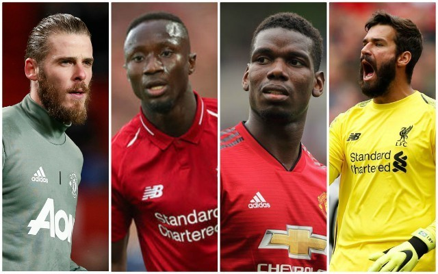 De Gea or Alisson? It's Liverpool 7-4 Manchester United in our combined XI after ex-Red's bold suggestion