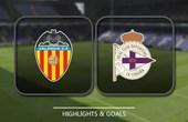 VIDEO Valencia vs Deportivo La Coruna (La Liga) Highlights