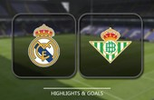VIDEO Real Madrid 0 - 1 Real Betis (Primera División) Highlights