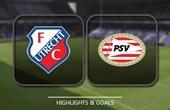 VIDEO FC Utrecht 1 - 7 PSV Eindhoven (Eredivisie) Highlights