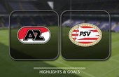 VIDEO AZ Alkmaar vs PSV Eindhoven (Eredivisie) Highlights
