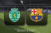 VIDEO Sporting CP 0 - 1 Barcelona (UEFA Champions League) Highlights