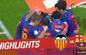Leo Messi at the double as Barcelona win 3-2 at Valencia (Official video)