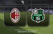 VIDEO AC Milan vs Sassuolo (Serie A) Highlights