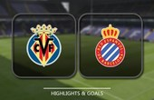 VIDEO Villarreal 0 - 0 Espanyol (Primera División) Highlights