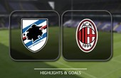 VIDEO Sampdoria 2 - 0 AC Milan (Serie A) Highlights