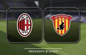VIDEO AC Milan vs Benevento (Serie A) Highlights