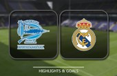 VIDEO Alaves 1 - 2 Real Madrid (Primera División) Highlights