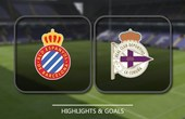 VIDEO Espanyol 4 - 1 Deportivo La Coruna (Primera División) Highlights